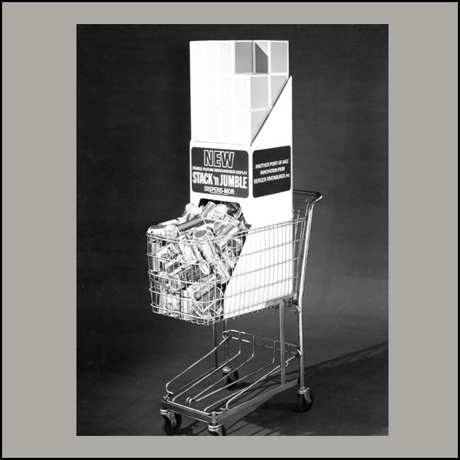 Stack And Jumble Shopping Cart Display