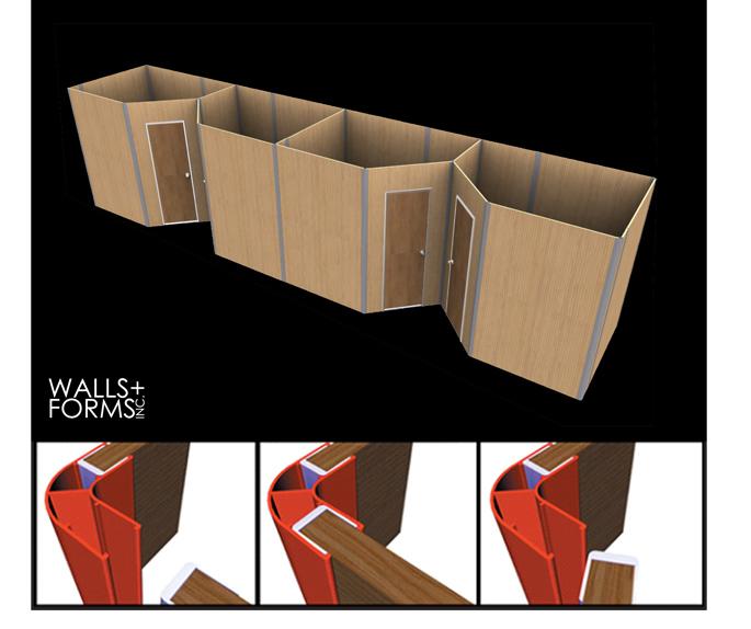 Walls + Forms Cornerforms