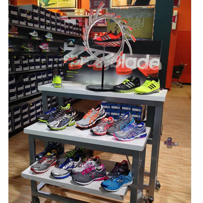 Adidas Springblade POP Display