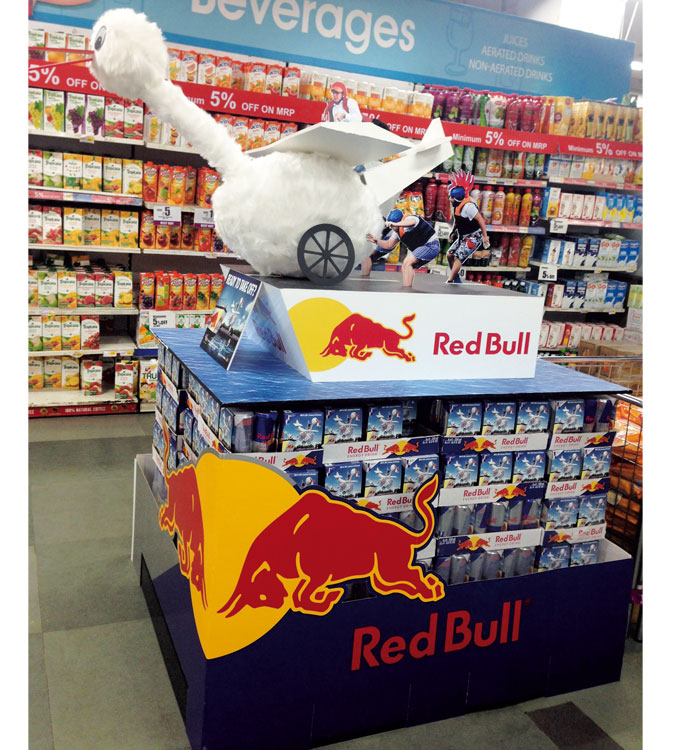 Red Bull Flugtag Retail Display