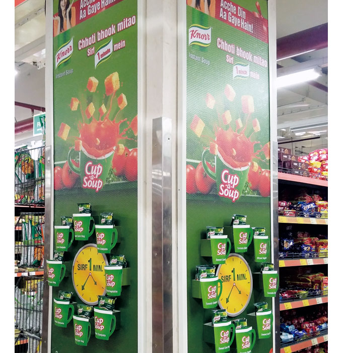 Knorr Soup In-Store Promotion