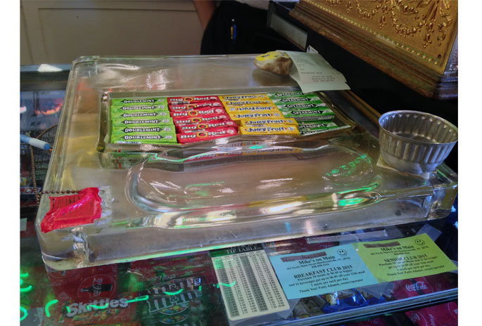 Wrigley's Check-Out Penny Tray