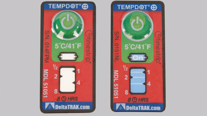 FFR Merchandising Time-Temperature Alert Labe