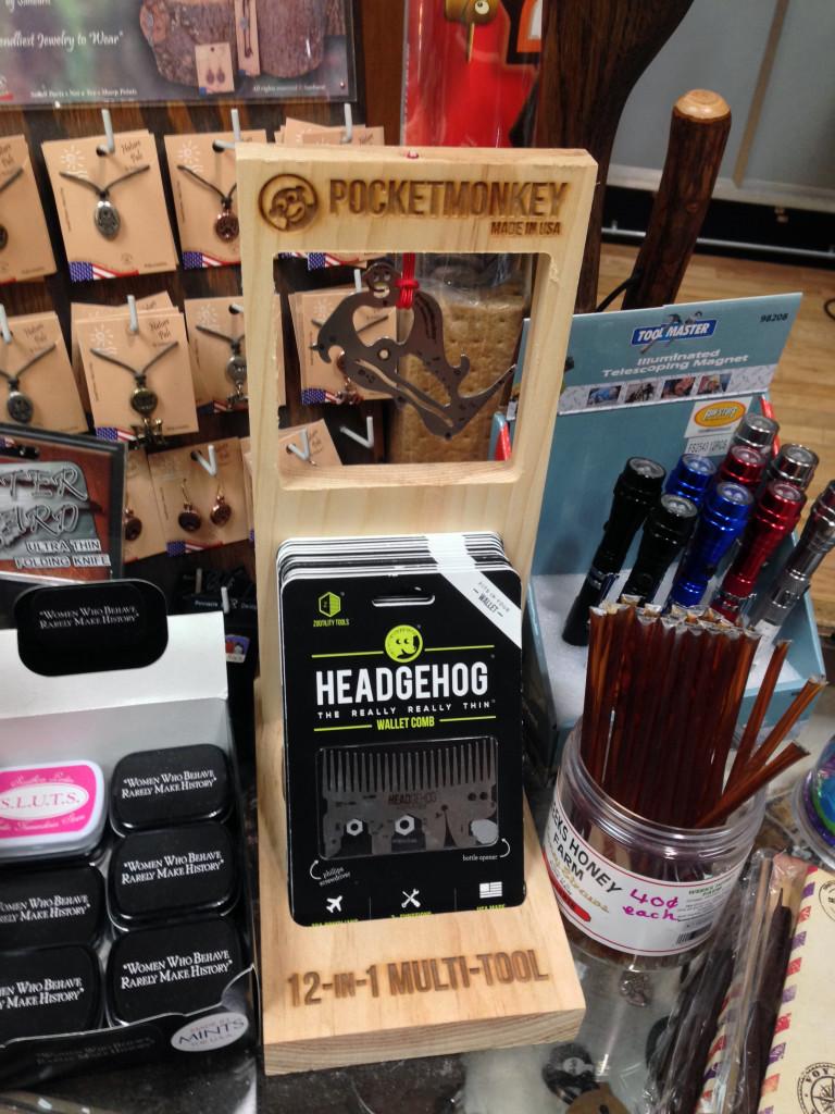 Pocket Monkey Counter Display