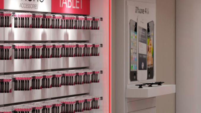 Walls + Forms Announces New Verizon 4G White Package Store Design