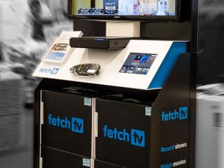 Fetch TV Floor Display
