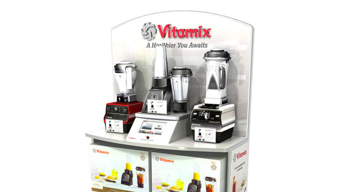 Vitamix End Cap Display