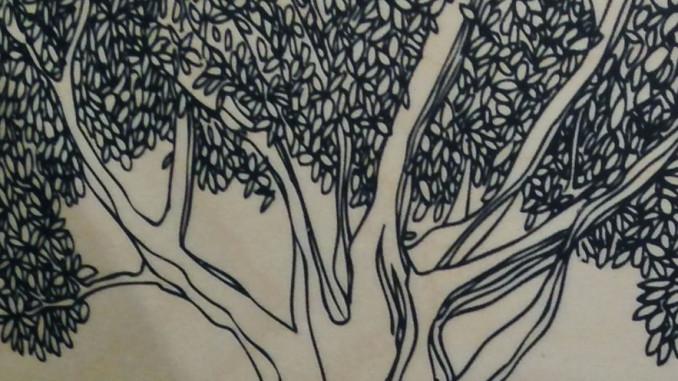 The Dreaming Tree Floor Display