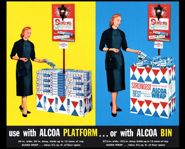 Alcoa Wrap Bin Displays