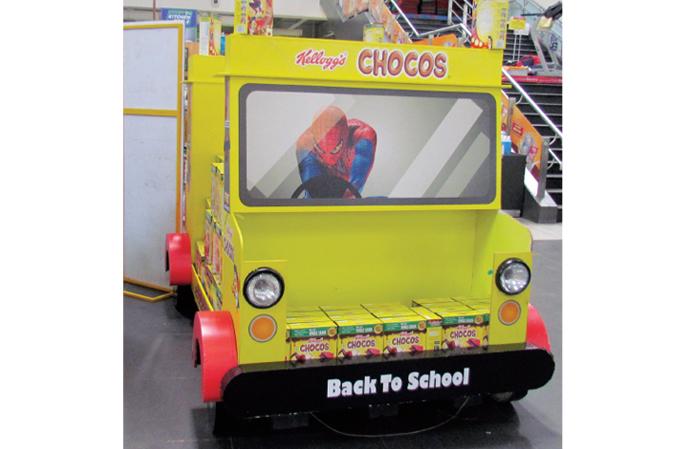 Kellogg's Chocos Floor Display