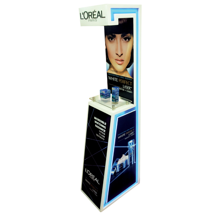L'Oreal White Perfect Floor Display