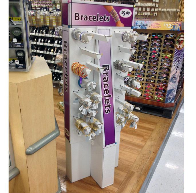 Bracelets Floor Display