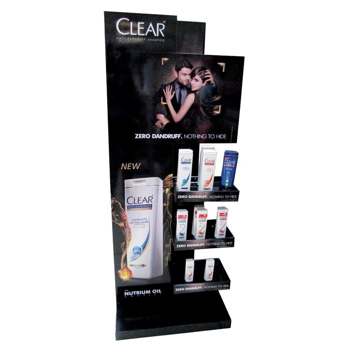 Clear Floor Display