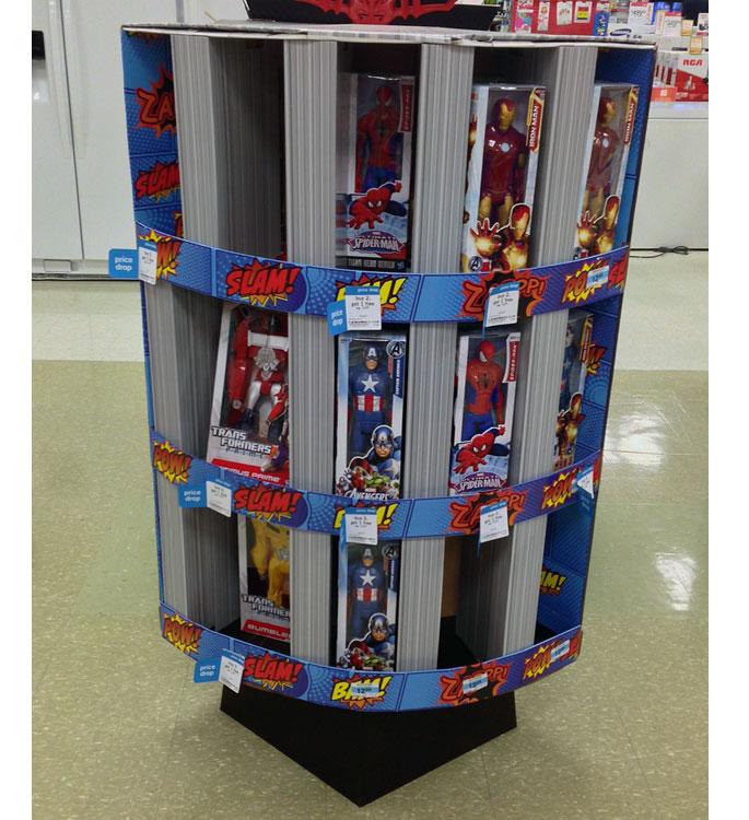 Avengers Round Floor Display