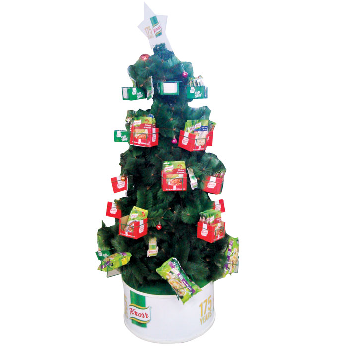 Knoor Holiday Tree Floor Display