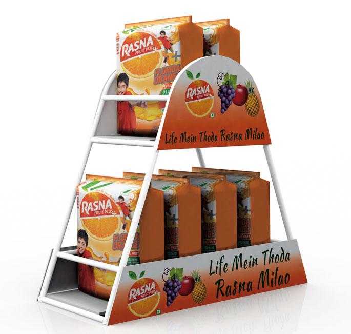 Rasna Fruit Plus Counter Display