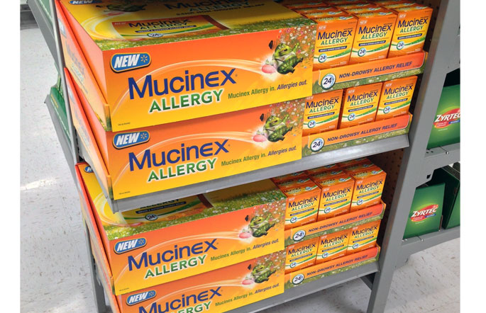 Mucinex Allergy POP Displays