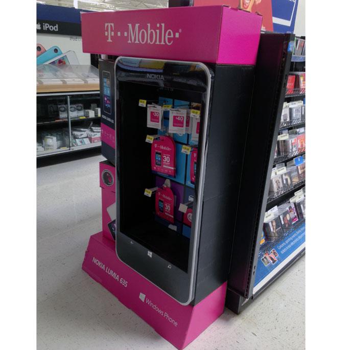T-Mobile Floor Display