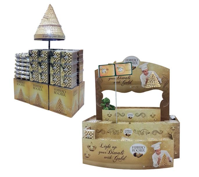 Ferrero Rocher Floor Displays