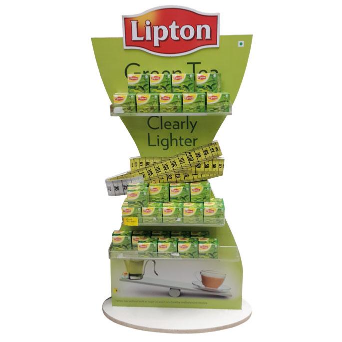 Lipton Clearly Lighter Floor Display