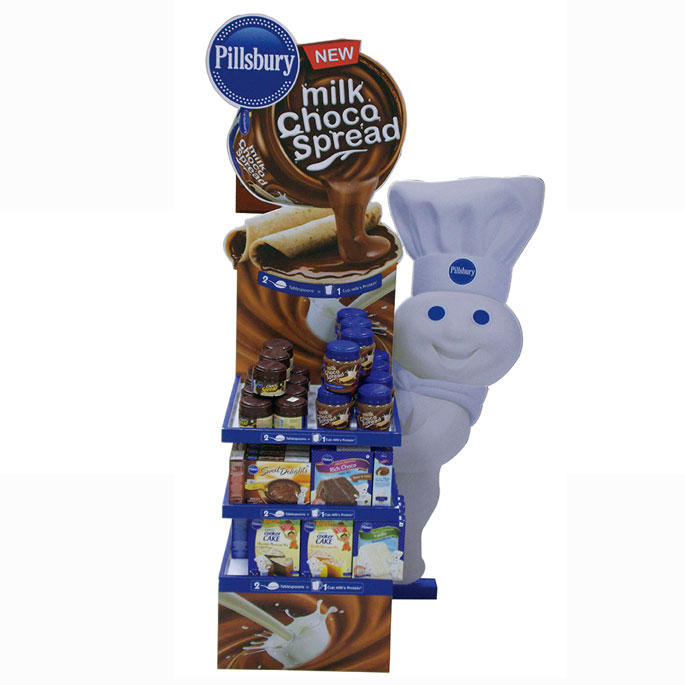 Pillsbury Choco Spread Floor Display