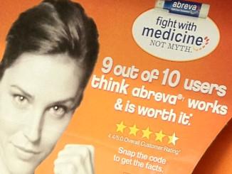 Abreva Medicine Not Myth