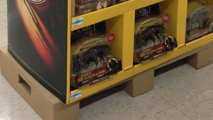 The Hobbit Half Pallet Display