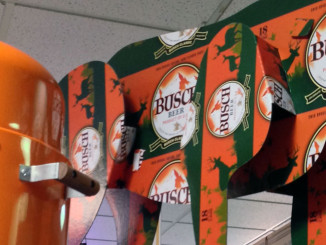 Busch Beer Deer Display