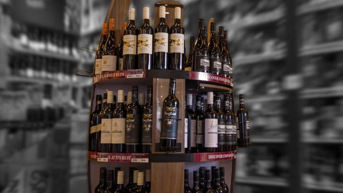 Treasury Wines Estates Floor Display