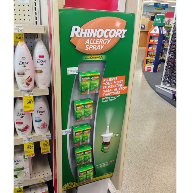 Rhinocort Allergy Spray Side Kick