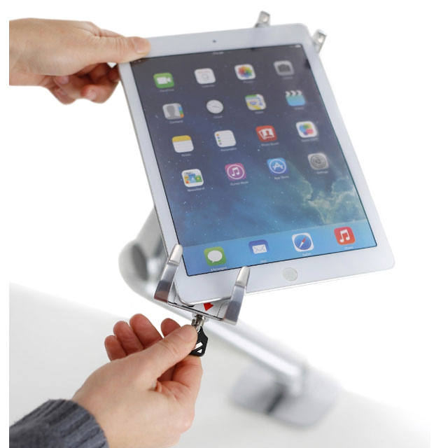 Ergotron Introduces Lockable Tablet Mount