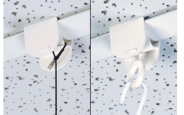 FFR Easy-Squeeze Butterfly Ceiling Clip