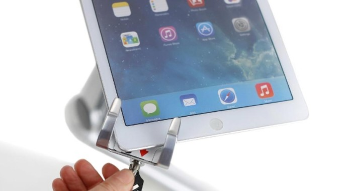 Ergotron Introduces Lockable Tablet Mount