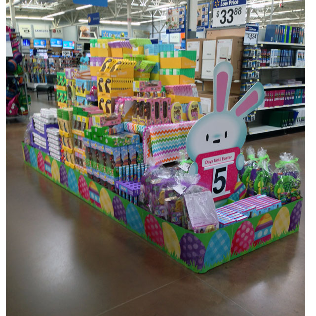 Walmart Easter Island Stacker