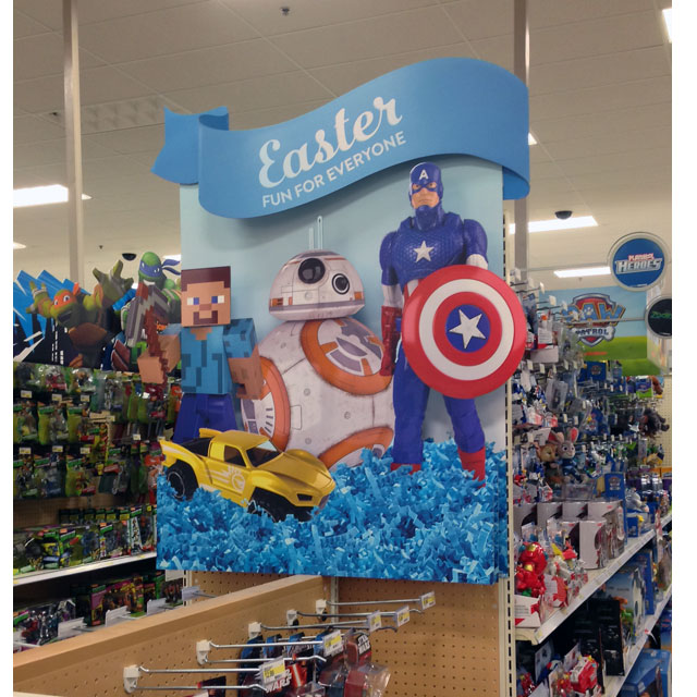 Easter For Everyone End Cap Sign