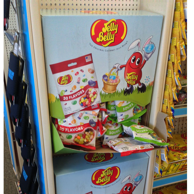 Jelly Belly Side Kick Display