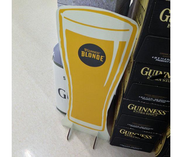 Guinness Beer Standee