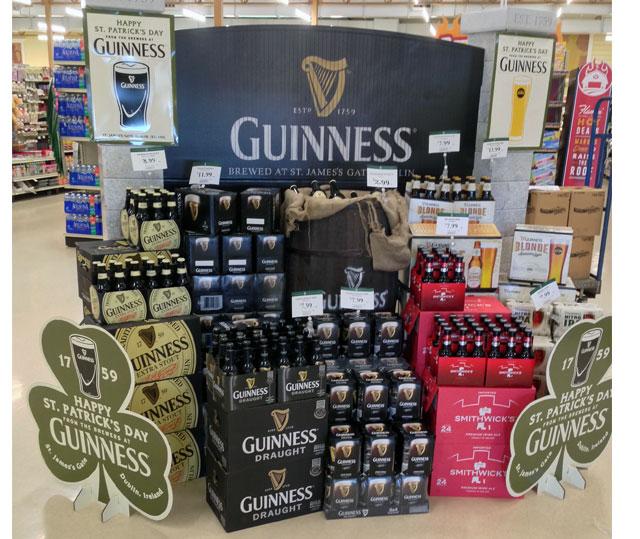 Guinness Beer Display
