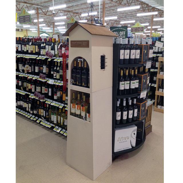 Robert Mondavi Wines Floor Display