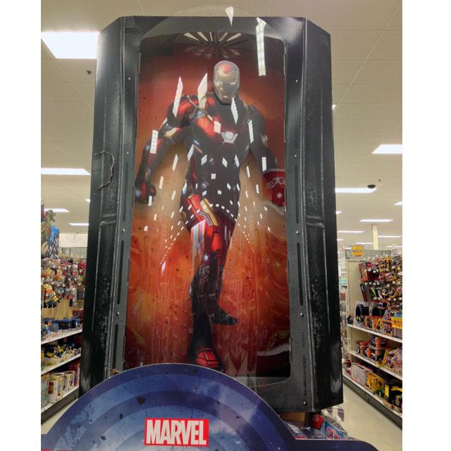 Marvel End Cap Display