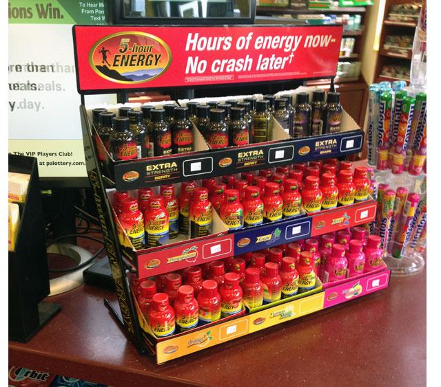 5-Hour Energy Counter Display