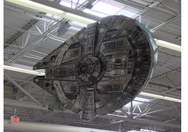 Star Wars The Force Awakens Ceiling Display