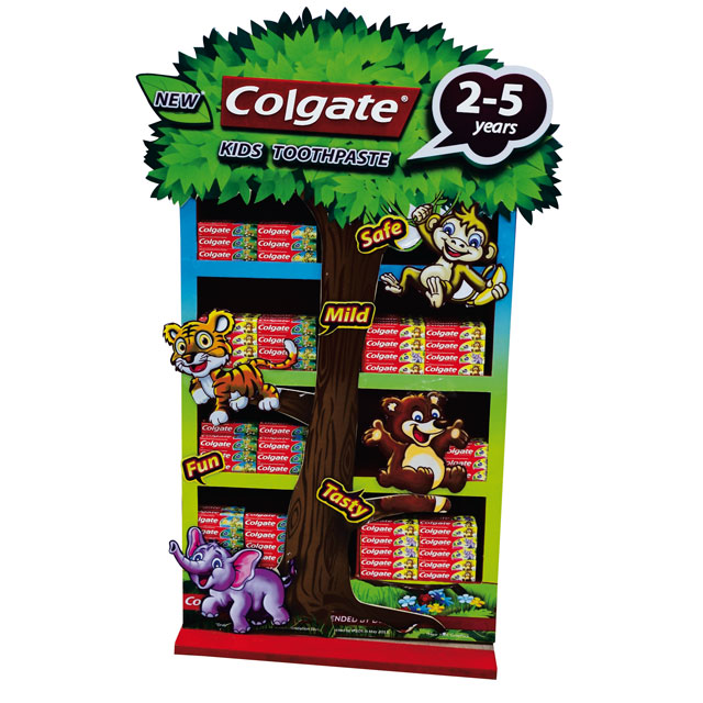 Colgate Kids Toothpaste Floor Display
