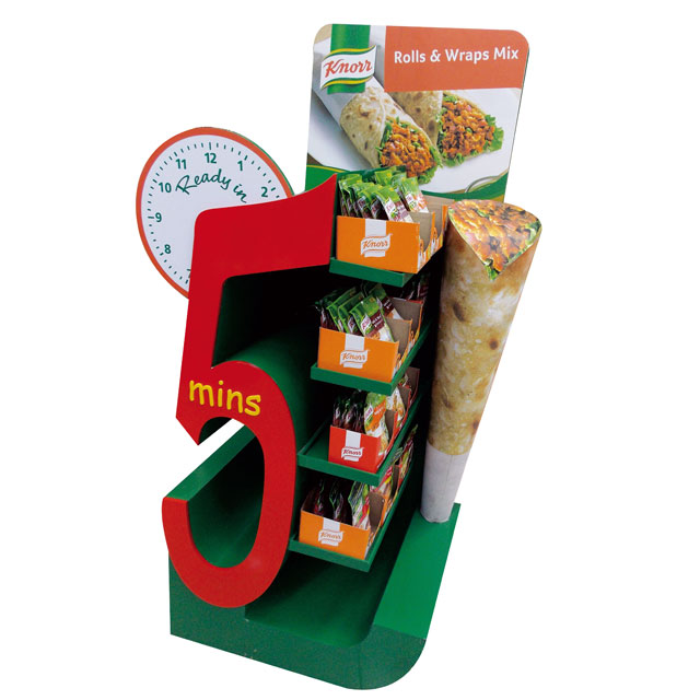 Knorr Rolls & Wraps Mix Display