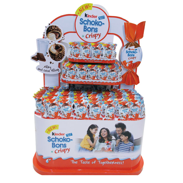 Kinder Schoko-Bons Floor Display