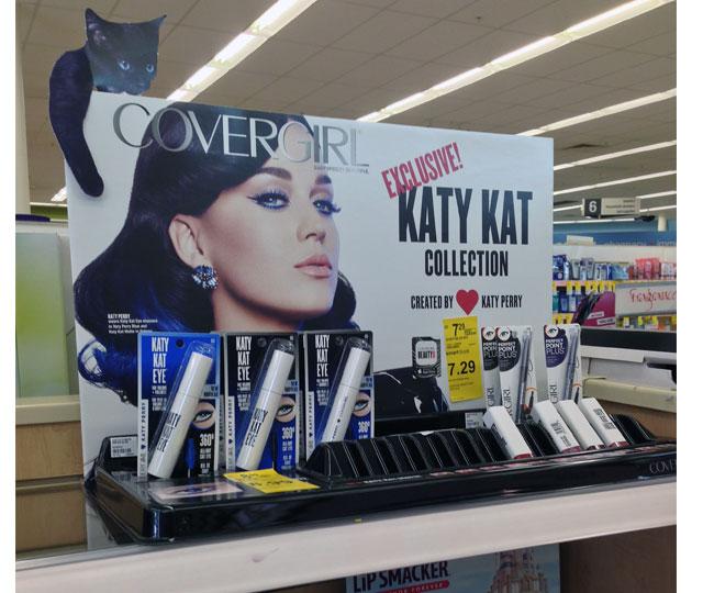 Katy Perry Katy Kat POP Displays