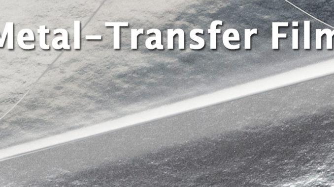 Lumirror MR20 polyester metal-transfer film