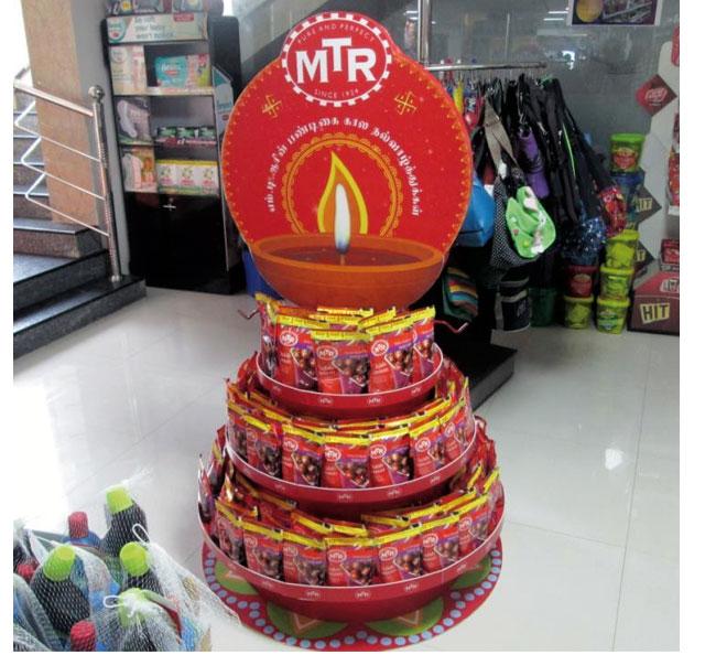 MTR Floor Display