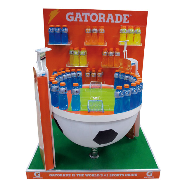 Gatorade Floor Display