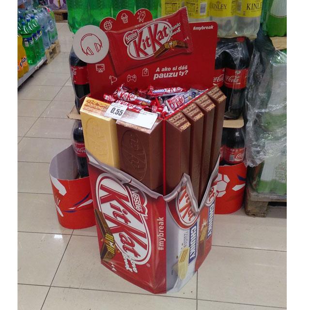 Kit Kat #mybreak Retail Display